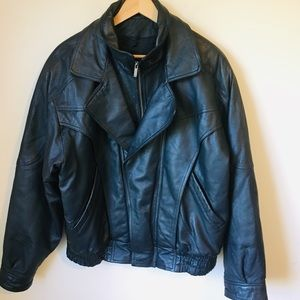 Wilson Leather Bomber Jacket